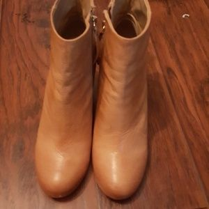 New ankle booties real leather brand name